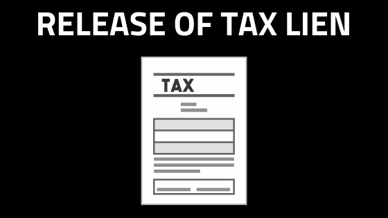 release of tax lien